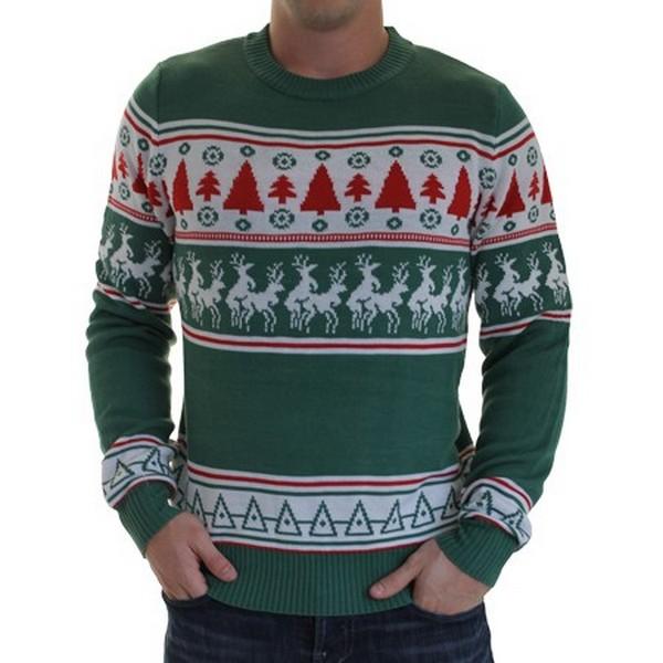 купить свитер с оленями недорого
